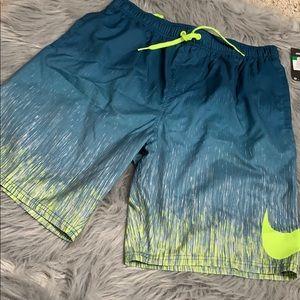 Nike men's swim trunks